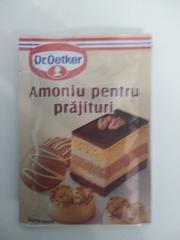Dr. Oetker Amoniu pentru prajituri 7 Gr