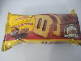 Boromir Cozonac cremă caramel și ciocolată   450 Gr