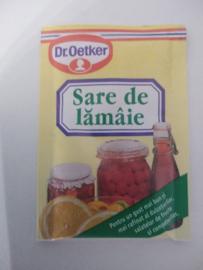 Dr. Oetker Sare de lămâie