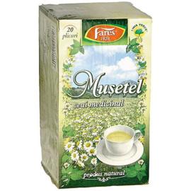 Fares  ceai de Musetel  20  plicuri  (netto 20 gr)