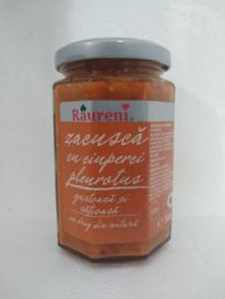 Raureni zacusca cu ciuperci pleurotus   300 Gr