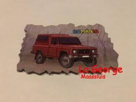 Magnet frigider lemn - ARO  9,7 X 6 cm