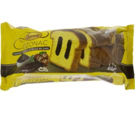 Boromir Cozonac cu Ciocolata si alune  450 gr