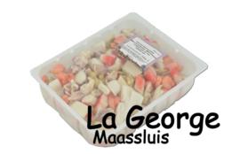 Fructe de mare congelat  net 900 gr