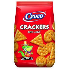 Croco crackers sare  400 Gr