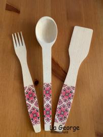 Set linguri cu mănuși bucătărie