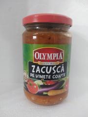 Olympia zacusca de vinete coapte  300 Gr