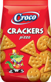 Croco crackers Pizza  400 Gr
