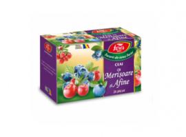 Fares  ceai de Merișoare si afine  40 gram