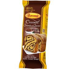 Boromir Cozonac cremă cacao    500 Gr