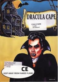 Cape Dracula în mărimea copilului