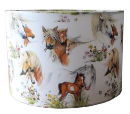 Kinderlamp  paardjes