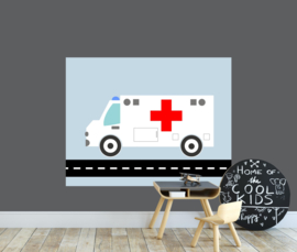 behangpaneel ambulance 180 x 140 cm