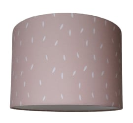 kinderlamp sprinkles pink blush