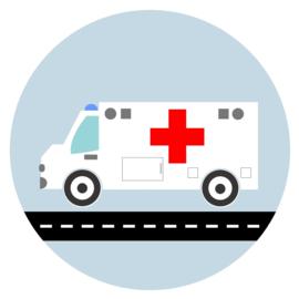 behangcirkel ambulance
