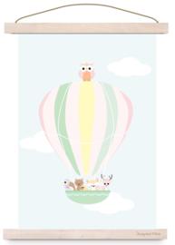 Poster Luchtballon d4k
