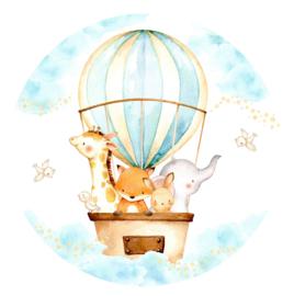 behangcirkel luchtballon