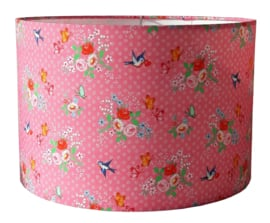 Kinderlamp sweet birds pink