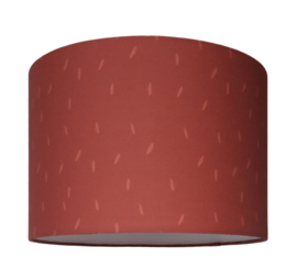 kinderlamp sprinkles terra red