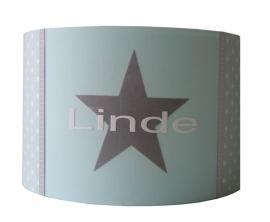 Kinderlamp met naam mint Linde