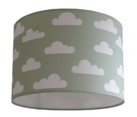 kinderlamp wolk old green