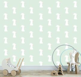 Kinderbehang konijn