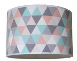 Kinderlamp geometric pastel