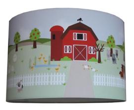 Kinderlamp boerderij designed 4kids