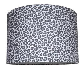 Kinderlamp  leopard grijs