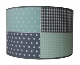 Kinderlamp minty grey
