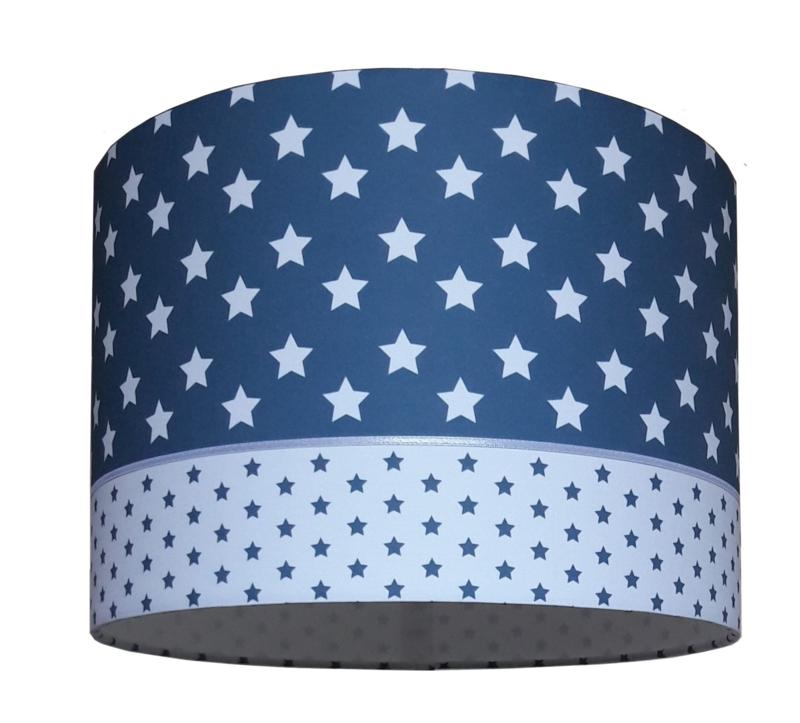 kinderlamp jeans blauw grote ster
