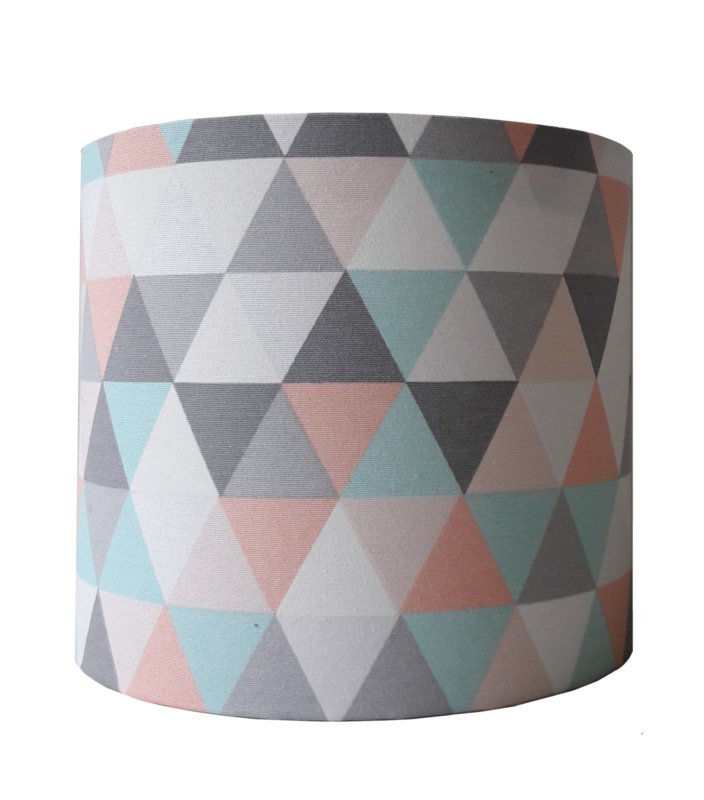 Wandlamp geometric pastel