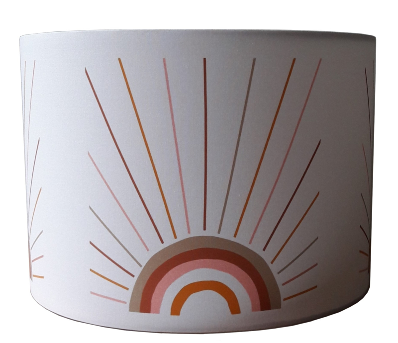 Kinderlamp  rainbow boho