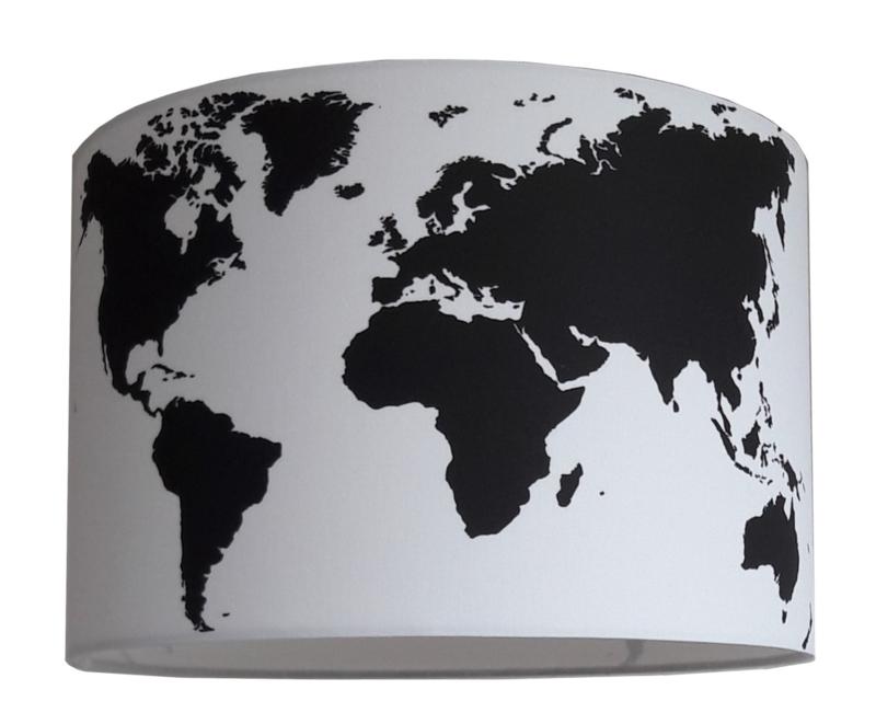 Kinderlamp wereldkaart D4K