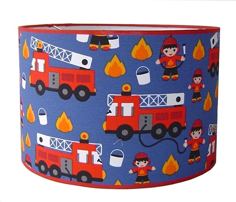 Kinderlamp brandweer