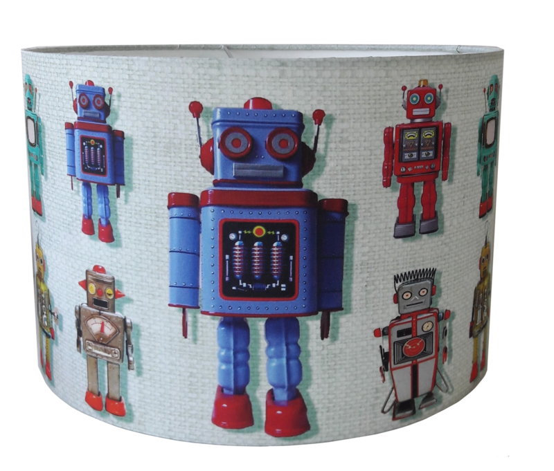 Kinderlamp robot by Studio Poppy