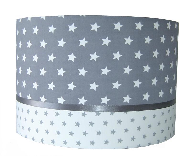 kinderlamp grijs grote ster