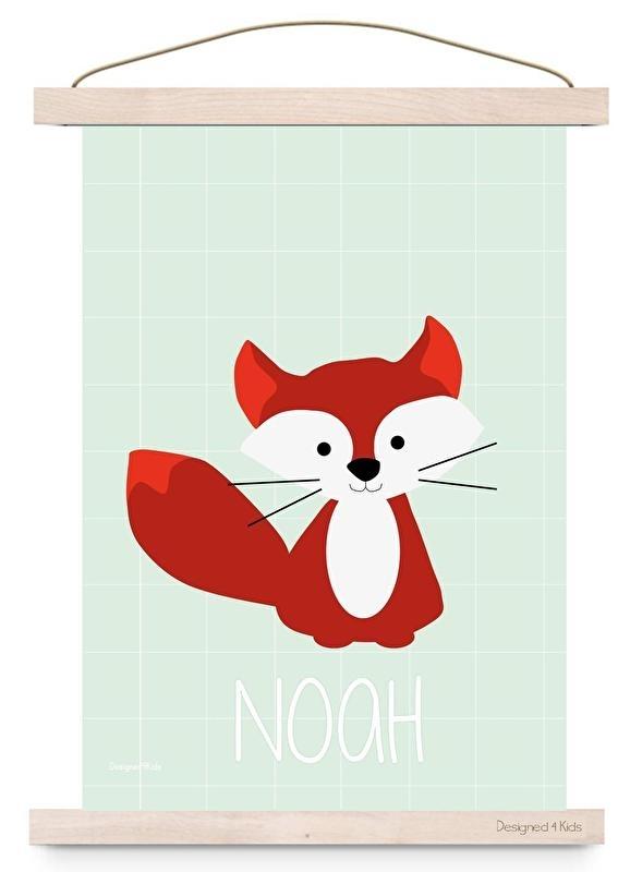 Poster vos met naam