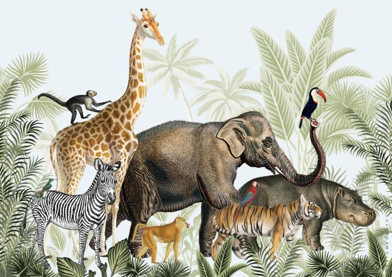 Poster Jungle parade