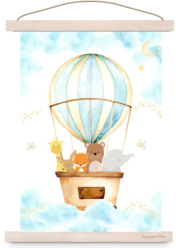 Poster Luchtballon