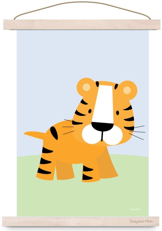 poster   jungle tijger d4k