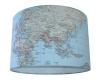 Kinderlamp wereldkaart