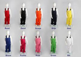 Kinder tuinbroeken in 9 kleuren