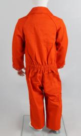 Kinderoverall oranje