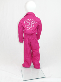 Kinderoverall roze