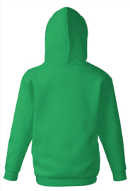 appelgroene hooded sweater