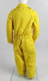 Kinderoverall geel