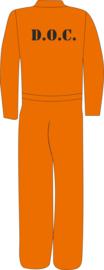 Overall oranje