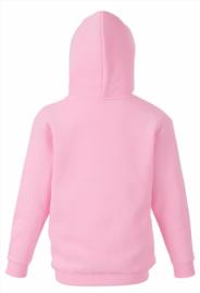 roze hooded sweater