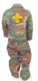 Camouflage kinderoverall